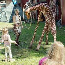 Giraff och rocking