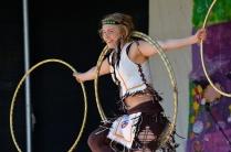 Hoop dance Indian Jelena Mitra Rockring