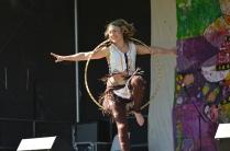 Hoop dance indian rockring