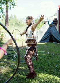 Indian hoop