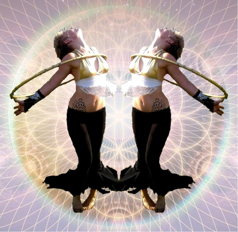 Hoop dance gemetry