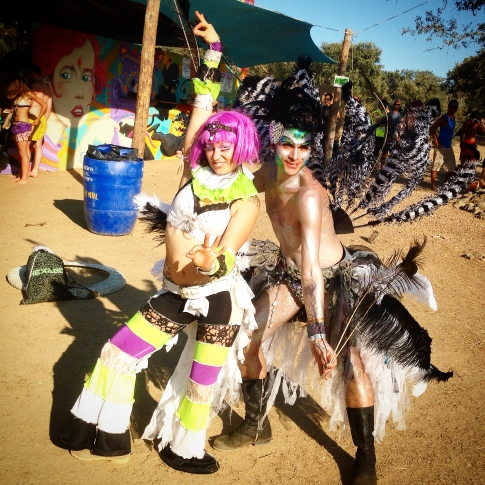 performance art at boom festival